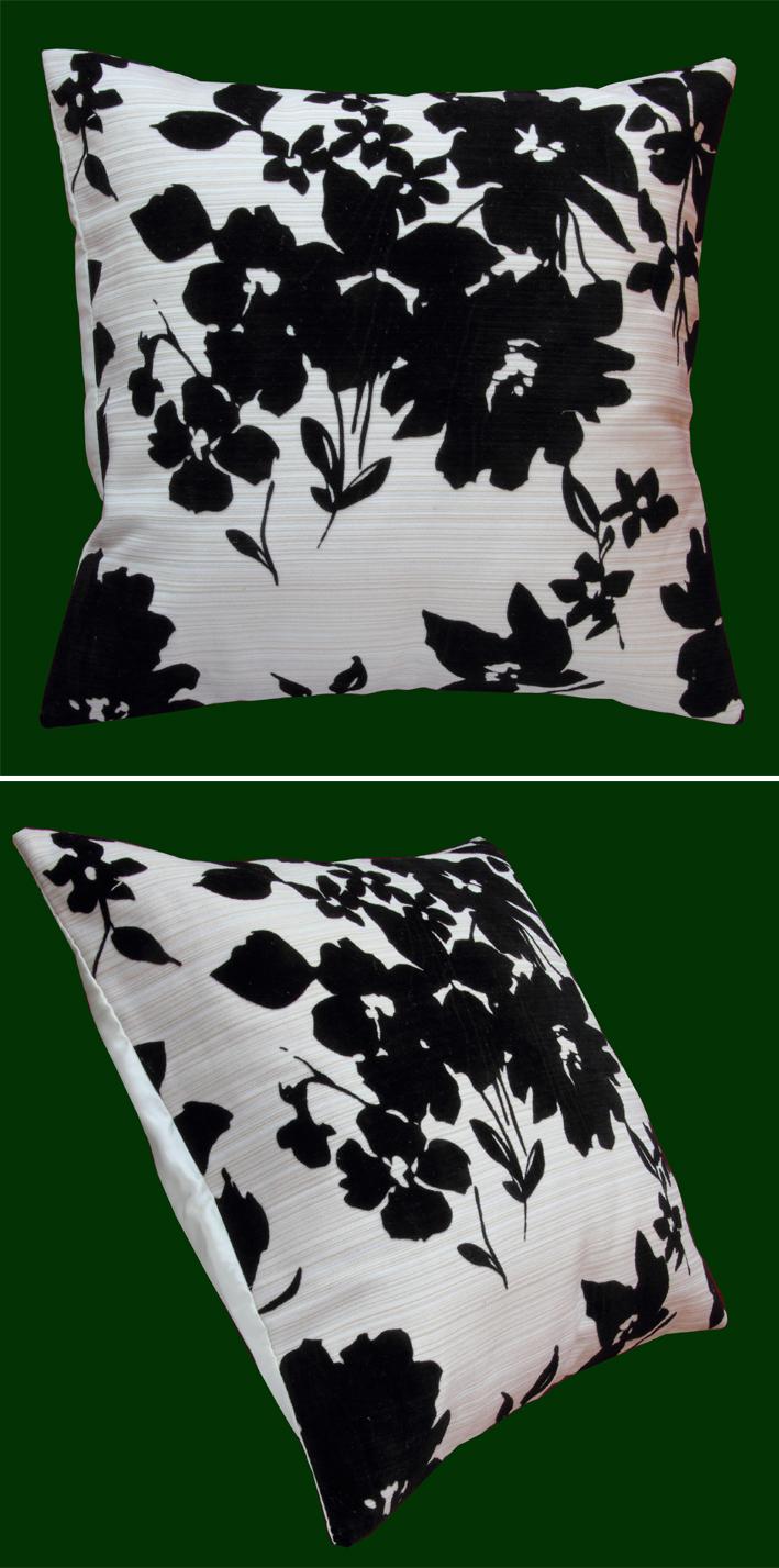 kissenh lle 40x40 cm beige natur filz schwarz kissenbezug sofakissen dekokissen. Black Bedroom Furniture Sets. Home Design Ideas
