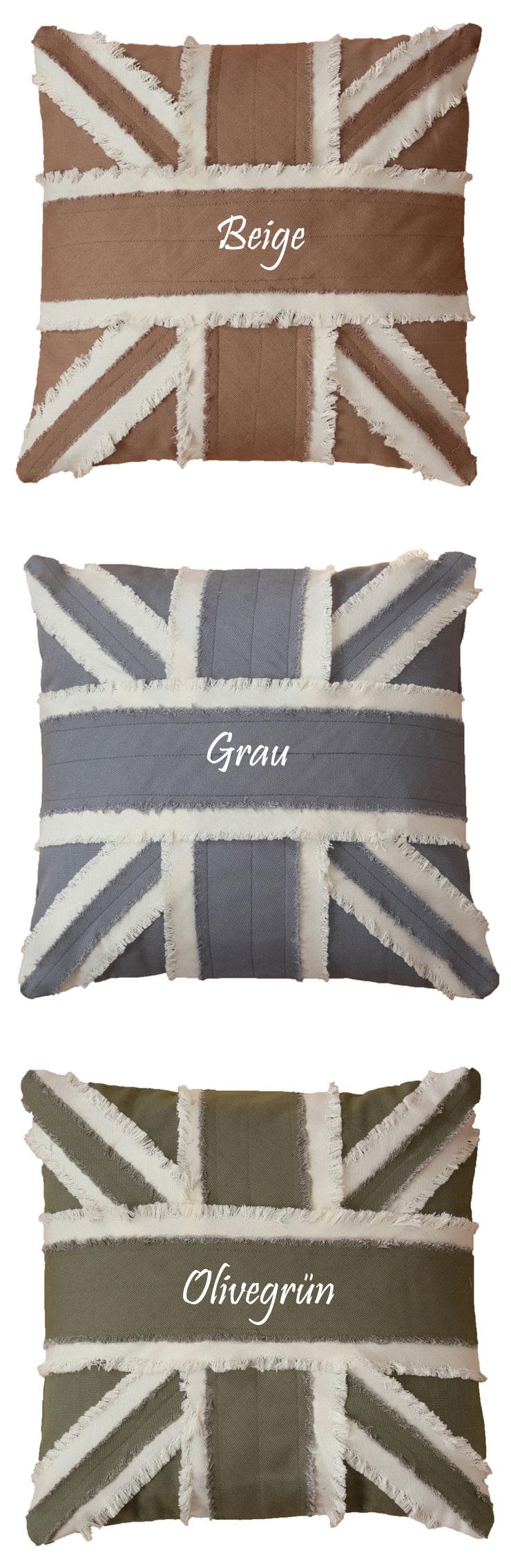 baumwolle kissenh lle englische flagge 40x40 und 50x50 cm kissenbezug sofakissen ebay. Black Bedroom Furniture Sets. Home Design Ideas