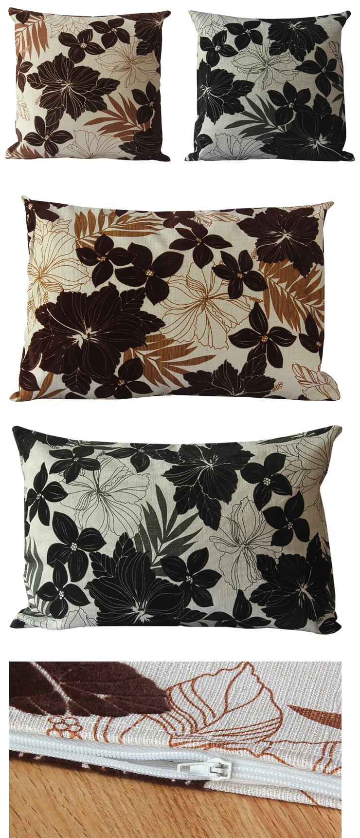 sch ne kissenh lle blumen filz 40 x 40 und 40 x 60 cm kissenbezug sofakissen ebay. Black Bedroom Furniture Sets. Home Design Ideas